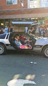 Outside Con Back to the Future